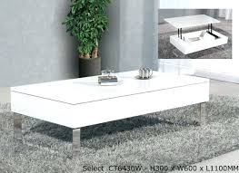 white end table with storage white coffee table with storage elkar club