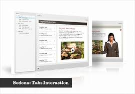 interactive tabs elearning template
