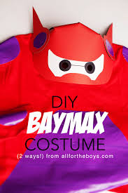 halloween party title diy baymax costume from big hero 6 u2014 all for the boys