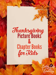 thanksgiving picture books and chapter books for