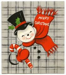 74 best holiday christmas vintage cards snowman images on