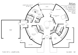 Monolithic Dome Homes Floor Plans Floor Plans 5 Bedrooms Monolithic Dome Institute