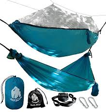 chill gorilla mosquito hammock with straps perfect for backpacking c