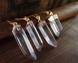 natural quartz crystal necklace images Natural quartz crystal necklace curious oddities jpg
