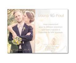 remerciement mariage photo carte de remerciement de mariage classique à personnaliser