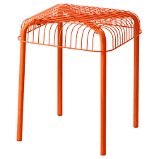 västerön bench in outdoor orange ikea