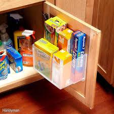 18 inspiring inside cabinet door storage ideas family handyman