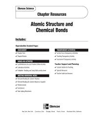 atomic structure u0026 chemical bonds chemical bond molecules