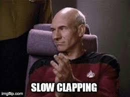 Slow Clap Meme - slow clap all the reaction memes pinterest funny things memes