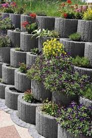 cheap retaining wall ideas cinder block retaining wall concrete