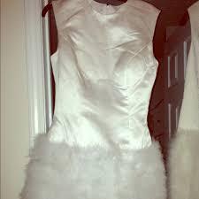 75 off bcbg dresses u0026 skirts prom party wedding dress white