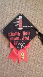 College Graduation Cap Decoration Ideas Biology Themed Graduation Cap Dedicated To My Nana Graduation