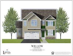 Willow Floor Plan by The Willow Lakeside Homeslakeside Homes