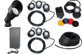 Landscape Lighting Packages - pond cleaning service new cumberland pa york pa harrisburg