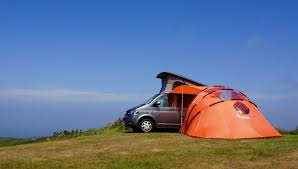 Vehicle Tents Awnings Retractable Awning Tent Adds Extra Roof And Views To Your Camper Van