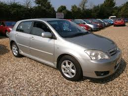 used toyota corolla silver for sale motors co uk