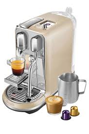 nespresso coffee nespresso by breville creatista capsule coffee machine royal