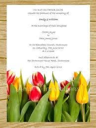 diy digital printable yellow u0026 red tulips wedding birthday