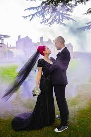 Wedding Dress Man 23 Dark Wedding Dresses For Brides Who Think White Is Trite Huffpost