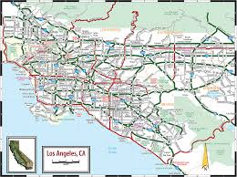 210 Freeway Map Large Los Angeles Maps For Free Download And Print High