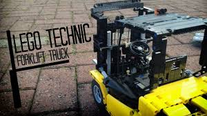 lego technic forklift truck youtube