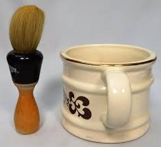 Old Fashioned Shave Kit Barbershop Old Fashioned Luxury Shaving Mug And Bristle Brush Set