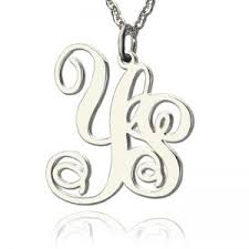 monogram jewelry cheap cheap monogram necklace