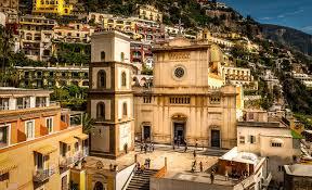 image cities positano italy amalfi coast temples houses