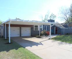 Carport Attached To House by Carports U0026 Patio Covers Of Oklahoma
