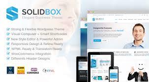 solidbox elegant business wordpress theme themes u0026 templates