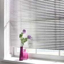 blinds u0026 curtains metallic aluminium venetian blinds in white for