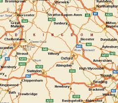map uk villages tour and travel maps of the cotswolds uk