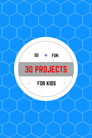 91 best 3d projects for kids images on pinterest 3d drawings