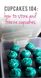 how to decorate cupcakes at home cupcakes 104 how to store and freeze cupcakes