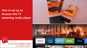 how to set up an amazon fire tv streaming media player youtube