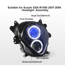 aliexpress com buy kt headlight for suzuki gsxr1000 gsx r1000
