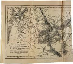 Lewis And Clark Map A Map Of The Louisiana Territory 1806 Ap Us History Study Guide