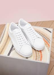 leather low top trainers jil sander 24 sèvres
