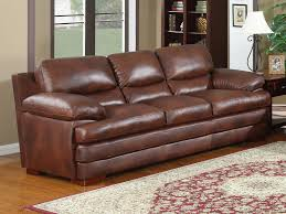 Baron Leather Sofa By Leather Italia  Top Grain - Full leather sofas