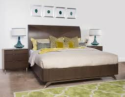 rachel ray sleigh bed u0026 nightstand earla u0027s furniture u0026 design center