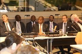 si e de l onu york le président touadera au siège de l onu à york centrafrique actu