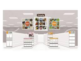 target in store marketing storage organization graphis