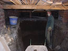 how to excavate a basement style within