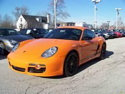 2008 porsche cayman s sport for sale 2008 orange porsche cayman s sport 1374275 gtcarlot com car