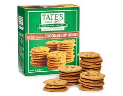 tate s cookies where to buy boxed tate s bake shop 21 oz chocolate chip cookies