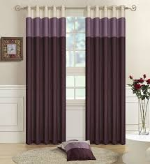 White And Purple Curtains Excellent Design Ideas Using Round Cream Rugs And Brown Purple