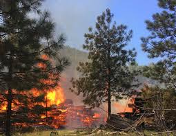 Wildfire News Eastern Washington by Fire 50 Percent Contained At Washington State Tourism Spot