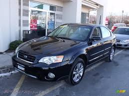 subaru outback black 2007 subaru outback 3 0r l l bean edition sedan in obsidian black