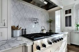 Backsplash Tiles Kitchen by Large Kitchen Backsplashes Tile Modern Modern Kitchen
