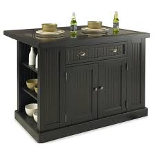 homestyle kitchen island nantucket distressed black wood and granite inlay kitchen island